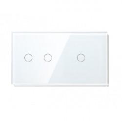 Întrerupător tactil dublu+simplu M1