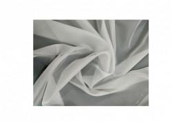 Set complet pentru fereastra Galerie Kula Crystal 19/19 - inox + Perdea 1008-V03 krem + Draperie CATIFEA V06 - inele capse inox