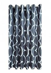 Draperie W4810 cu inele capse inox