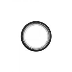 Galerie dubla PRINCE, grosime 19mm,negru