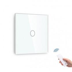 Întrerupător tactil simplu dimabil cap scară/cruce cu senzor telecomandă M1