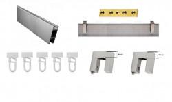 Galerie SQUARE LINE prindere tavan - SQUARE - Q-ART crom mat - prindere tavan