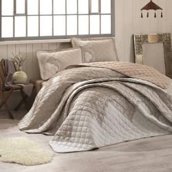 Cuvertură de pat Clasy-matlasată 2 persoane - MIKANOS V2