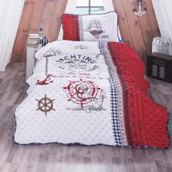 Cuvertură de pat Clasy-matlasată o persoană (ALESTA)