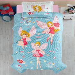 Cuvertură de pat Clasy-matlasată o persoană (POWER GIRL)