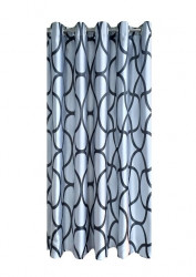 Draperie W4810 D2 cu inele capse inox
