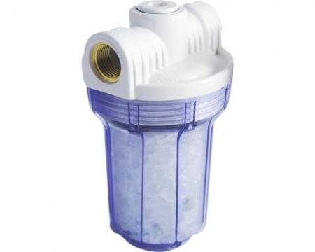 """Poze Filtru de apa 5"""" cu 1/2"""" dedurizator cu polifosfat"""