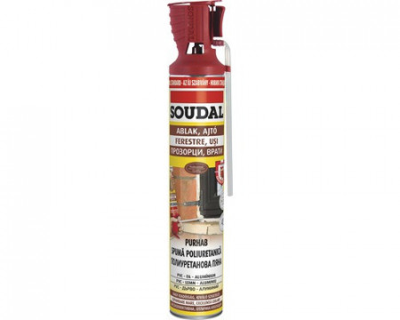 Poze Spuma poliuretanica Soudal 750 ml manuala