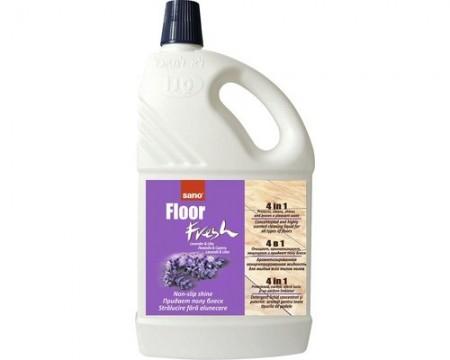 Poze Solutie de curatat pardoseli (detergent) Sano Floor Fresh Lavanda/Liliac 2L