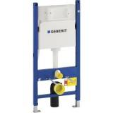 Rezervor WC incastrat Geberit Duofix Delta cu cadru de instalare, pentru pereti usori, 3-6 l, 50x112 cm