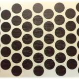Capac mobila adeziv 0.12 mm wenge 100buc/pac
