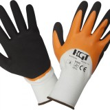 Manusi Poliester Acoperire Latex - Soft Touch / M: 10