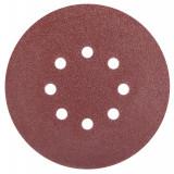 Disc abraziv prindere arici cu gauri 125x120 5buc/set