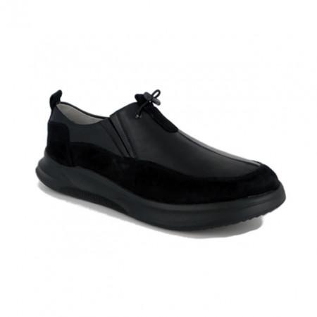 Pantofi C515, fabricati in Romania, culoare neagra
