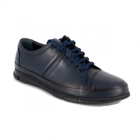 Pantofi G1456, talpa cu sistem antisoc, culoare albastra