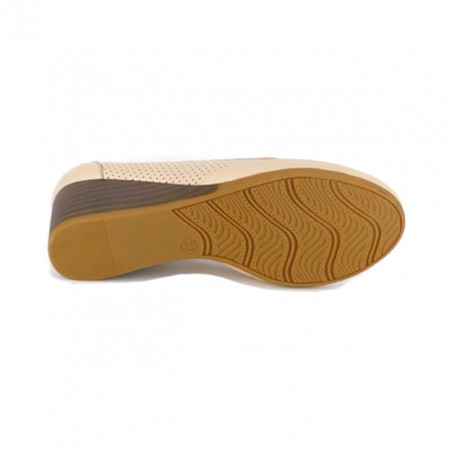 Pantofi Pass, model 17901, culoare bej