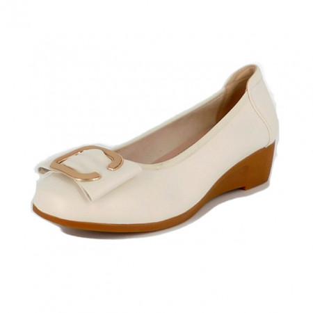 Pantofi Pass, model 30017, culoare bej