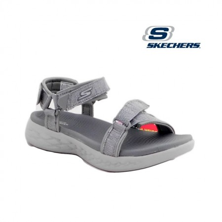 Sandale Skechers On The Go, culoare gri