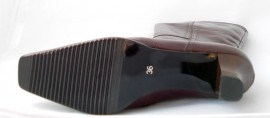 Cizme Bacau, model 1, captusite, culoare maro inchis