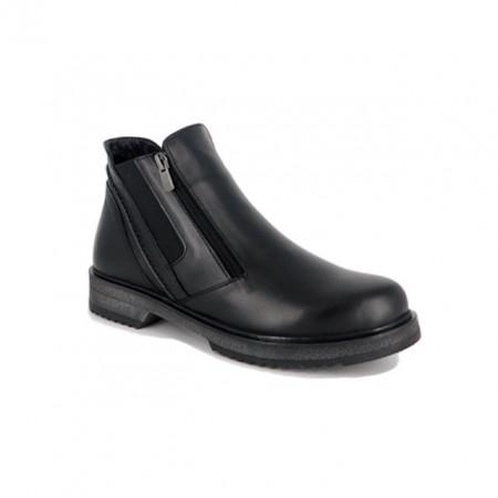 Ghete Anna Viotti, model D590, culoare neagra