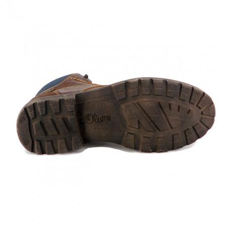 Ghete S.Oliver, model 305, impermeabile, brant din spuma cu memorie, culoare maro