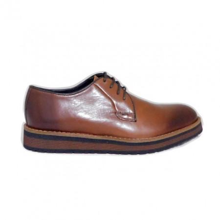 Pantofi C505, culoare maro