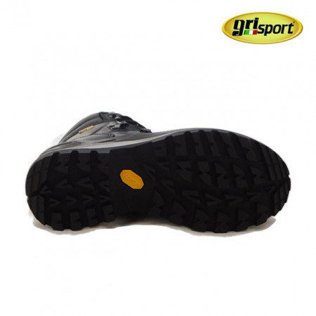 Bocanci Grisport 13701, impermeabili, talpa Vibram, culoare neagra