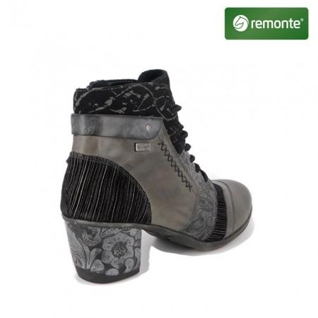 Ghete Remonte, model 5470, impermeabile, culoare gri