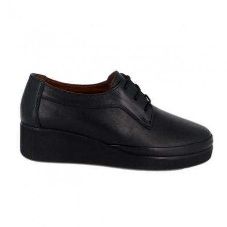 Pantofi Anna Viotti, model 1200, talpa cu perna de aer, culoare neagra