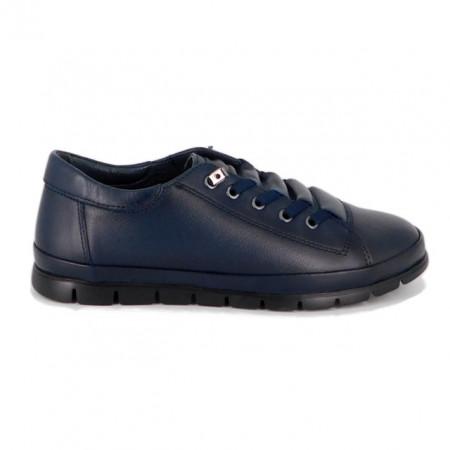 Pantofi Anna Viotti, model 204, culoare albastru inchis