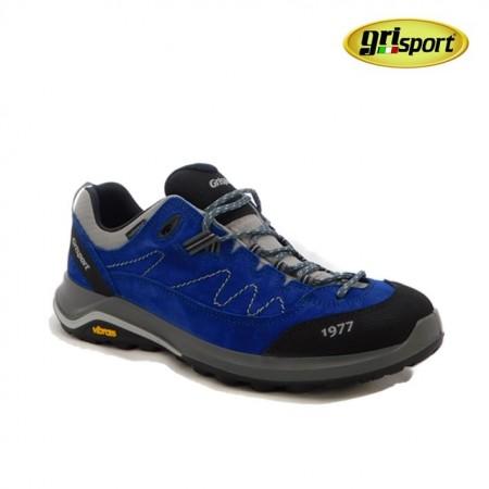 Pantofi Grisport 14303, impermeabili, talpa Vibram, culoare albastra