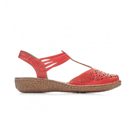 Pantofi Rieker, model M0978, culoare rosie