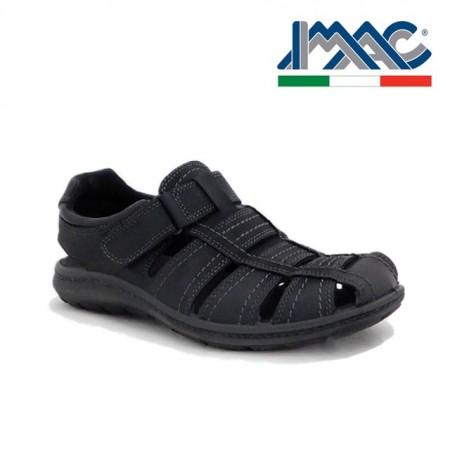 Sandale IMAC, model 1, talpa cu sistem anti-soc, culoare neagra