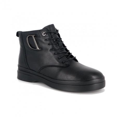Ghete Pass, model 2801, culoare neagra