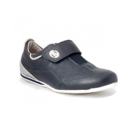 Pantofi sport Bontimes, model Channel, culoare albastru inchis