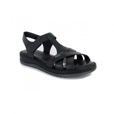 Sandale Pass, model 2135, culoare neagra