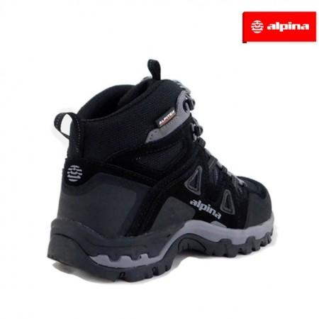 Ghete Alpina, model Tracker, impermeabili, culoare negru cu gri