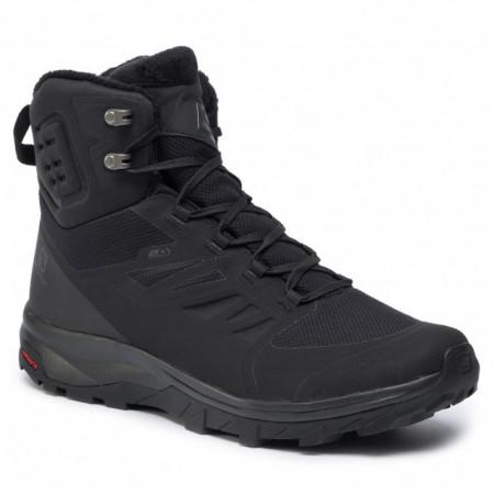 Ghete Salomon Outblast, pentru iarna, impermeabile, comfort termic pana la -7 grade,culoare neagra, serie mare