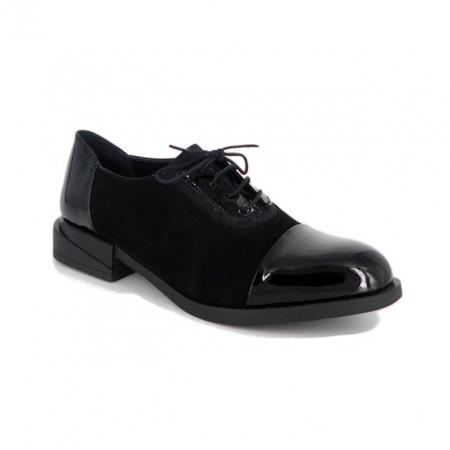 Pantofi C694, fabricati in Romania, culoare neagra