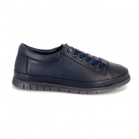 Pantofi Goretti 492, culoare albastru inchis