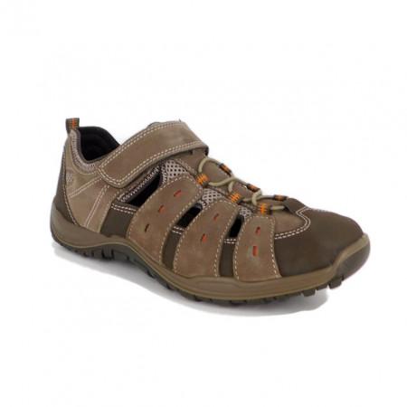 Pantofi Imac, model 502010, pentru vara, talpa cu sistem antisoc, culoare maro
