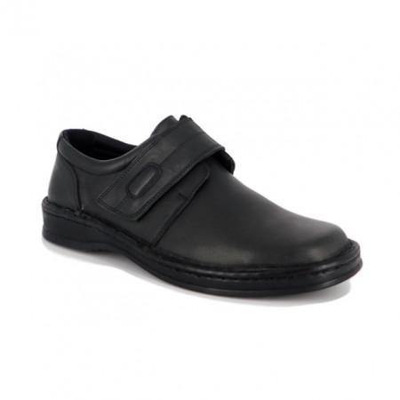 Pantofi Otter, model 1272, culoare neagra
