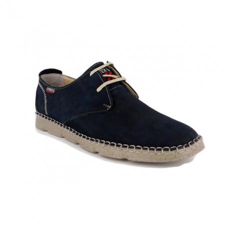 Pantofi Otter, model 2829, culoare albastra