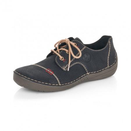 Pantofi Rieker 52520, culoare neagra