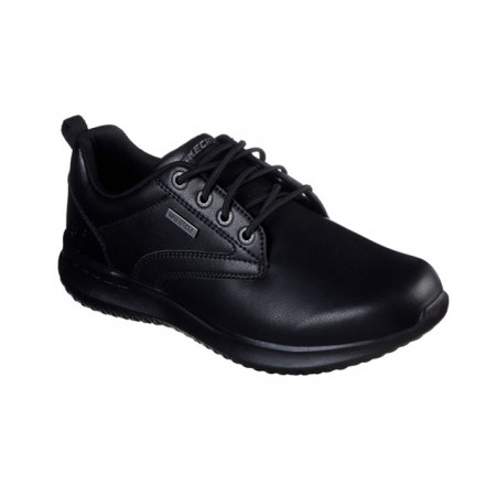 Pantofi Skechers Delson, piele naturala, impermeabili,talpa din spuma cu memorie