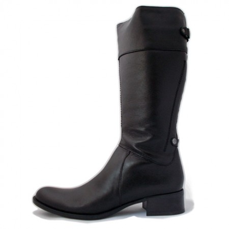 Cizme C841, culoare neagra