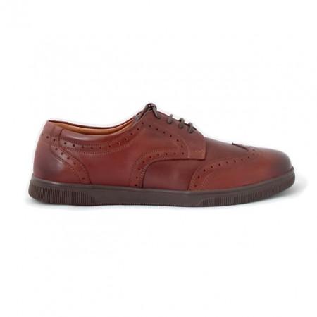 Pantofi AC 2890, culoare maro inchis