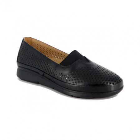Pantofi Anna Viotti, model 3830, pentru vara, culoare neagra