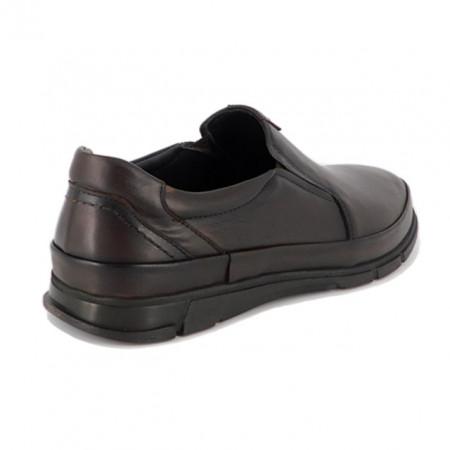 Pantofi G2019, talpa cu sistem antisoc, culoare maro