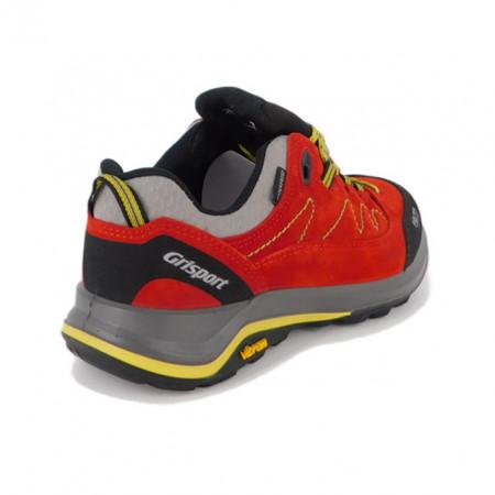 Pantofi sport Grisport 14303, impermeabili, talpa Vibram, culoare rosie
